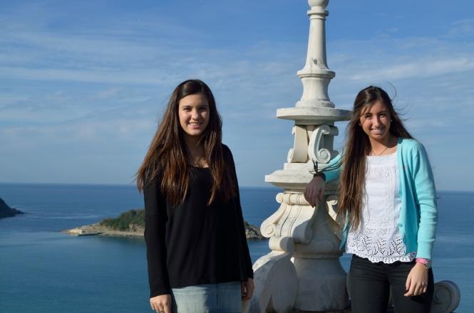 estudiantes de ISSA en San Sebastián
