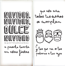 Mr wonderful Cartel Navidad