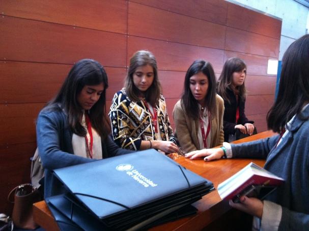 Alumnas colaboradoras de ISSA en las jornadas Excellence