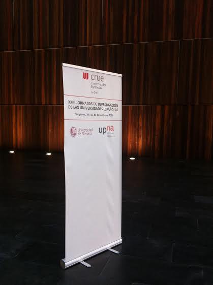 XXIII Jornadas de Investigación de las universidades españolas cartel