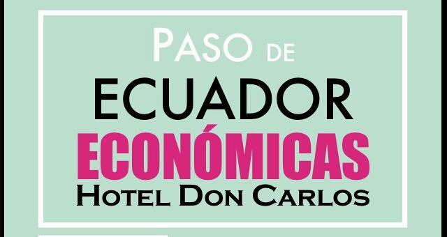 Cartel Paso de Ecuador ISSA Económicas Governance DADE ADE